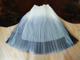 NoName Tulle Skirt white-dark blue