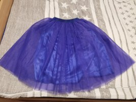 keine Tulle Skirt neon blue polyester