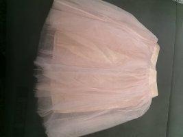 keine Marke Gonna di tulle albicocca-rosa pallido