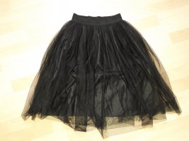New Look Tulle Skirt black