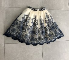 Chi Chi London Tulle Skirt dark blue-white