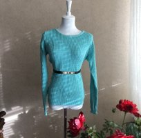 True Vintage Coarse Knitted Sweater multicolored