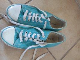 türkise/blaue Sneaker