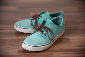 Nike Chaussure skate bleu clair-marron clair