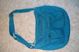 Türkise Tasche, Reißverschluss, H&M