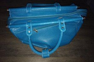 Bolso fin de semana turquesa-azul claro