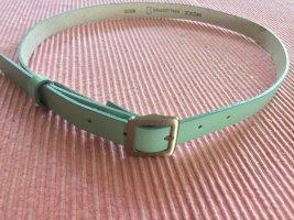 Mexx Cinturón de cuero turquesa Cuero