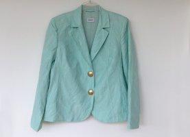 Basler Klassischer Blazer turchese-verde-grigio Cotone