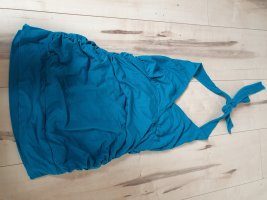 Aniston Top z dekoltem typu bandeau turkusowy