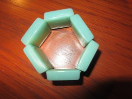 Armlet turquoise