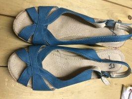 AZ Modell Wedge Sandals turquoise-light blue