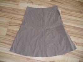 Spódnica w kształcie tulipana jasnobrązowy-beżowy