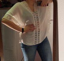 Janina Blusa a tunica bianco