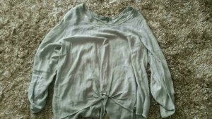Cotton Candy Tunic Blouse silver-colored-grey