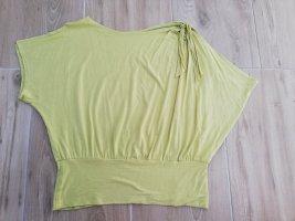 Dorothy Perkins Koszulka z dekoltem woda jasnożółty-limonkowy żółty