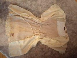 Khujo Camisa larga nude-crema tejido mezclado