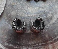 Tunnel Plug Boho Mandala Saddle Ethno Gipsy Mond 8mm