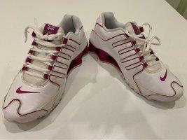Nike Sneakers met veters wit-paars