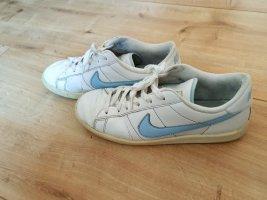 Nike Sneakers met veters wit-lichtblauw
