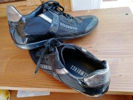 Bikkembergs Sneaker stringata nero-argento