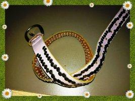 Vanzetti Cintura di pelle multicolore Pelle