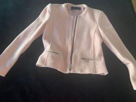 Tweed Jacke rosé