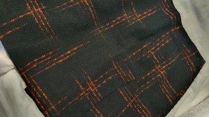 LTB Tweed Skirt black-dark red polyester