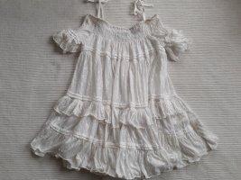 Twin-Set Simona Barbieri Robe tunique blanc