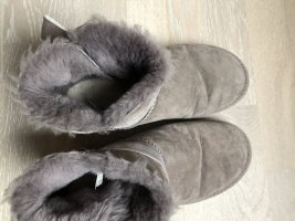 UGG Ankle Boots light brown-mauve leather