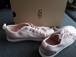 UGG Lace Shoes light pink-mauve
