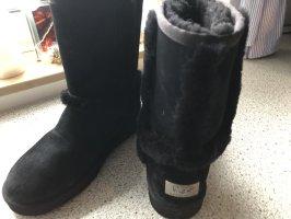 UGG Futrzane buty czarny