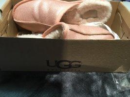 UGG Ausralia Hausschuhe Rose glänzend Damen 39