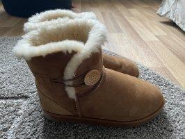 UGG Australia Snow Boots brown-cream
