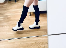 UGG Ankle Boots white mixture fibre