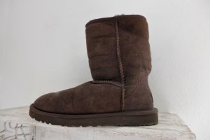 UGG Slouch Boots brown-dark brown leather