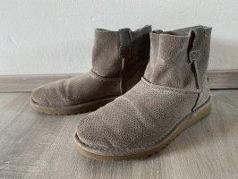 UGG boots stiefel Stiefeletten braun beige original leder schuhe