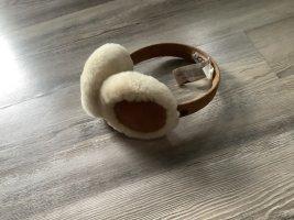 UGG Australia Earmuff light brown angora wool