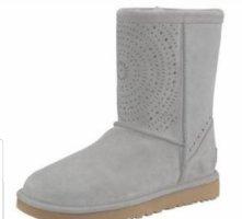 UGG Australia Fur Boots light grey