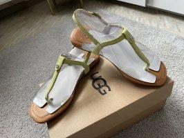 UGG Flip-Flop Sandals gold-colored-silver-colored