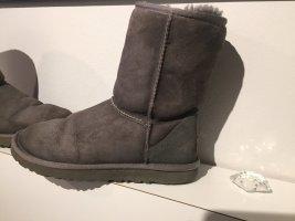 UGG Futrzane buty szary