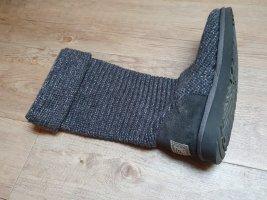 UGG Australia Futrzane buty ciemnoszary Wełna