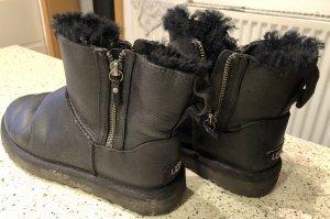 UGG Laarzen met bont zwart