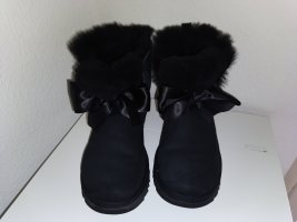 Uggs Gita Bow Schleife Mini Schwarz Größe 39