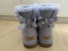 UGG Laarzen met bont babyblauw