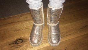 Ugh boots gold