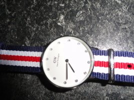 Daniel Wellington Analoog horloge wit-zilver