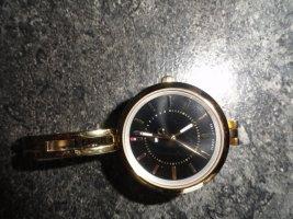 Tommy Hilfiger Reloj con pulsera metálica color oro-gris claro
