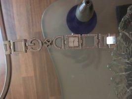 Dolce & Gabbana Orologio con cinturino di metallo argento