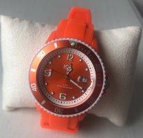 Ice watch Zegarek automatyczny pomarańczowy neonowy