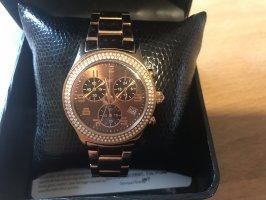 Jette Joop Reloj con pulsera metálica color rosa dorado